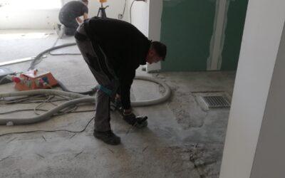 Umbau…der Boden